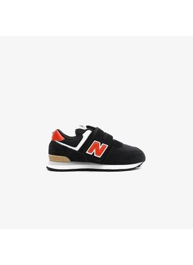 New Balance Unisex Çocuk  Sneakers PV574ML2.001 Siyah